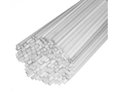 Пластиковые трубочки 5 х 370мм,прорезь 150мм