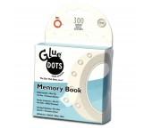Несъемные клеевые точки 10мм Memory Book в коробке 300 шт