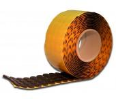 Черные CD-спайдеры 4мм высотой в рулоне 1 000 шт