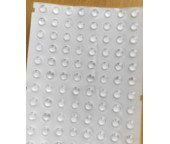 Прозрачные самоклеющиеся ножки/демпферы, 6.4 х 1.9мм