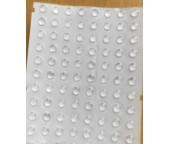 Самоклеящиеся прозрачные ножки / аммортизаторы (демпферы) 6,4*1,9мм (цена за лист 561 шт.)