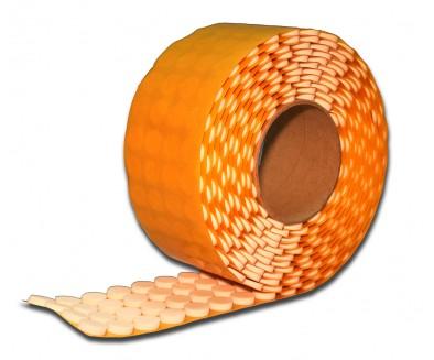 Белые CD-спайдеры GLUE DOTS™ 3мм высотой, в рулоне 1 000 шт.