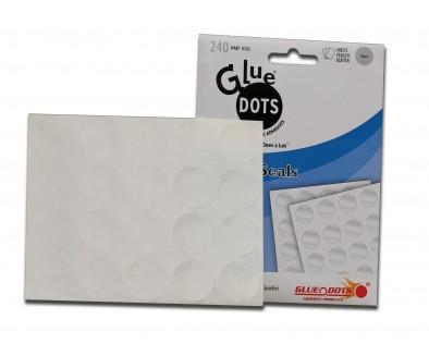 Фиксирующие этикетки GLUE DOTS™ 25мм в диаметре