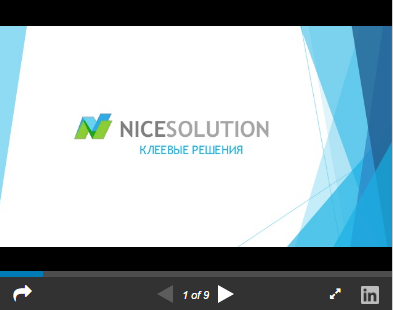 Презентация NiceSolution